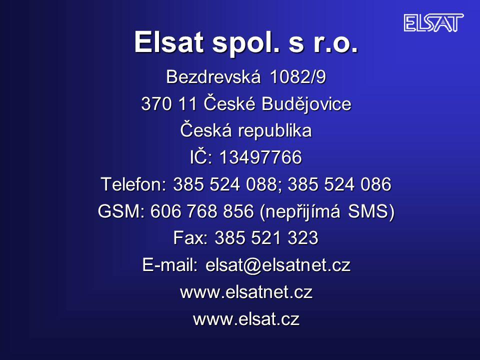 Elsat spol. s r.o.