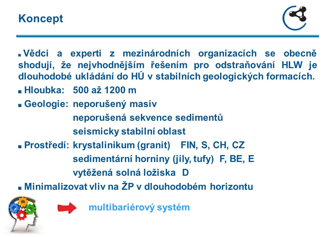Multibariérový koncept