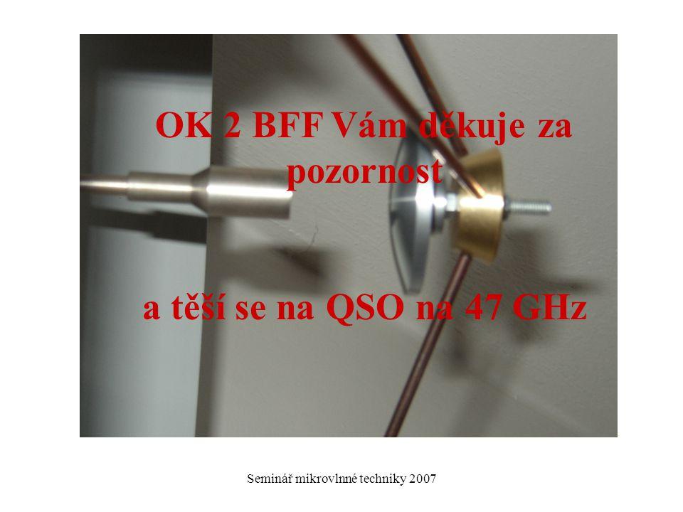 OK 2 BFF Vám děkuje za pozornost
