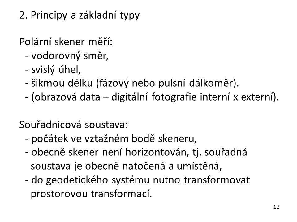 2. Principy a základní typy