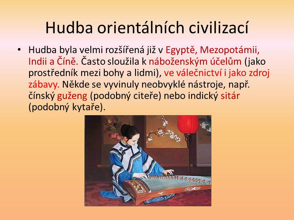 Hudba orientálních civilizací