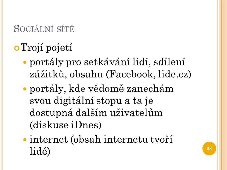 internet (obsah internetu tvoří lidé)