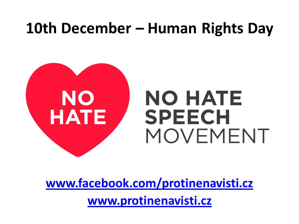 10th December – Human Rights Day