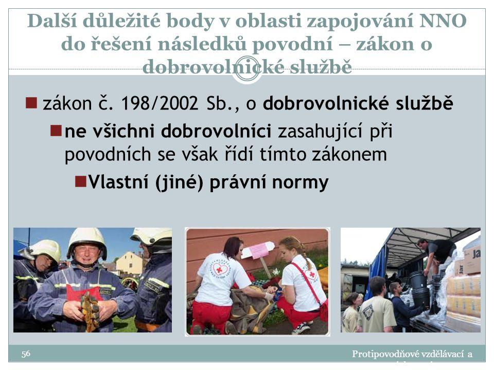 zákon č. 198/2002 Sb., o dobrovolnické službě