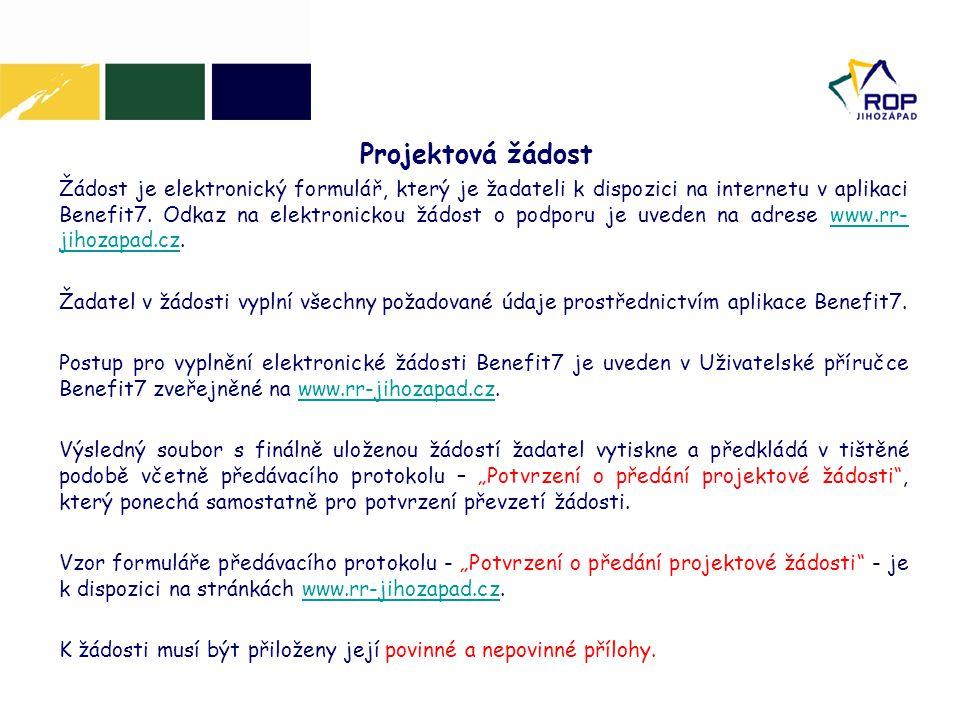 Projektová žádost