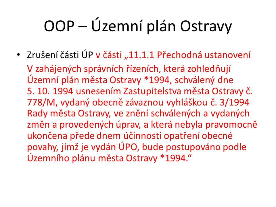 OOP – Územní plán Ostravy