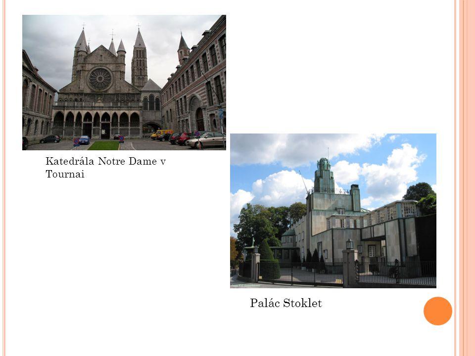 Katedrála Notre Dame v Tournai