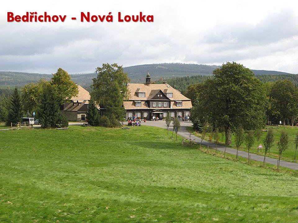 Bedřichov - Nová Louka http://cs.wikipedia.org/wiki/Soubor:Nov%C3%A1_Louka_001.JPG