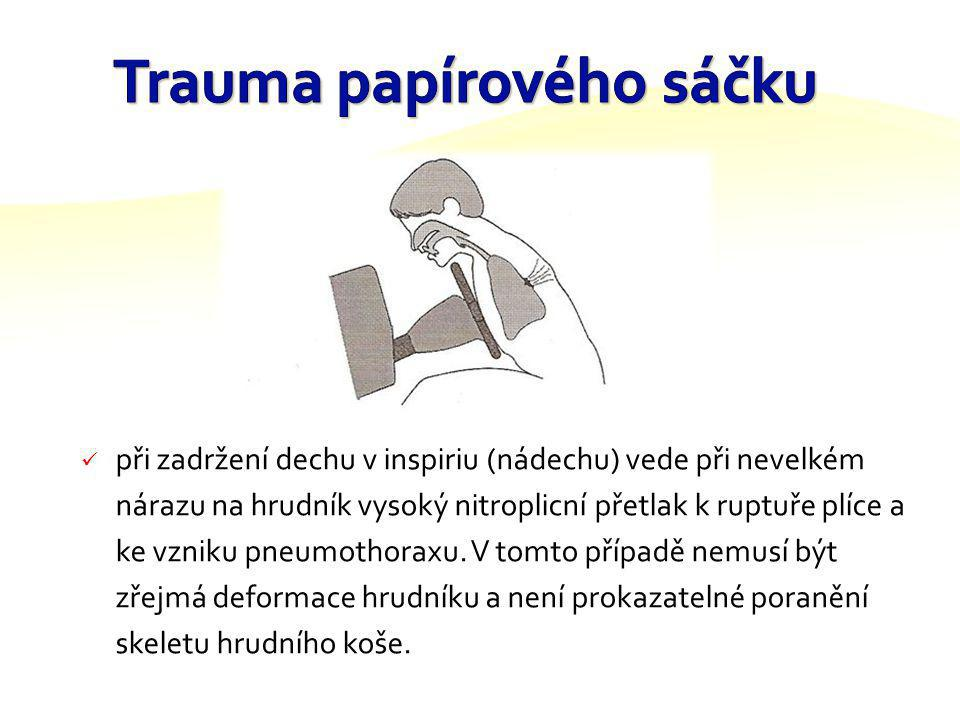 Trauma papírového sáčku