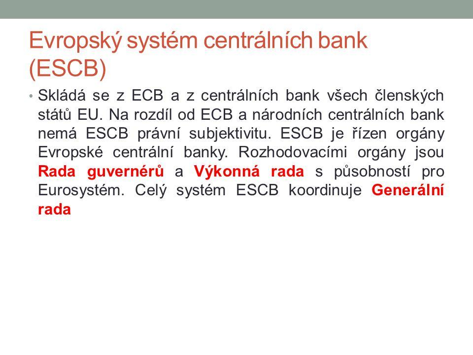 Evropský systém centrálních bank (ESCB)