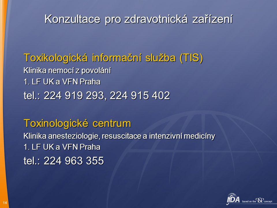 Konzultace pro zdravotnická zařízení