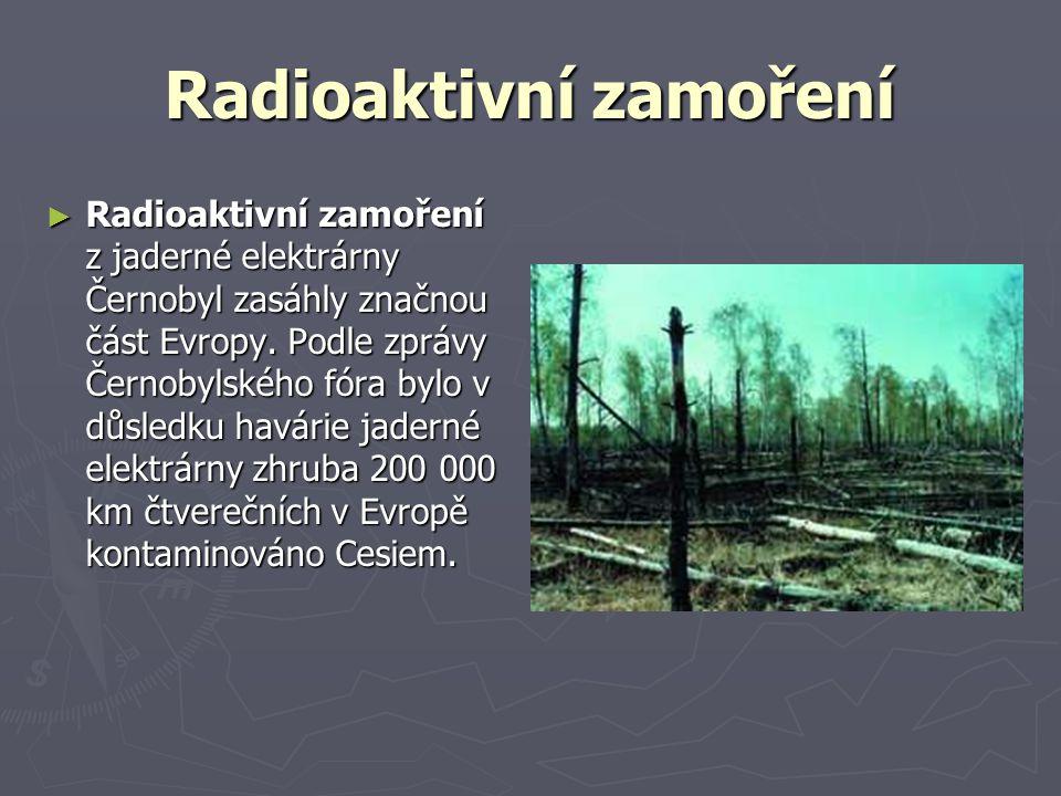 Radioaktivní zamoření