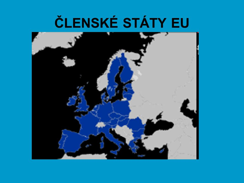 ČLENSKÉ STÁTY EU
