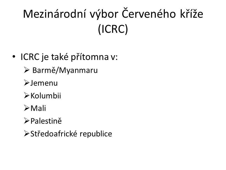 Mezinárodní výbor Červeného kříže (ICRC)