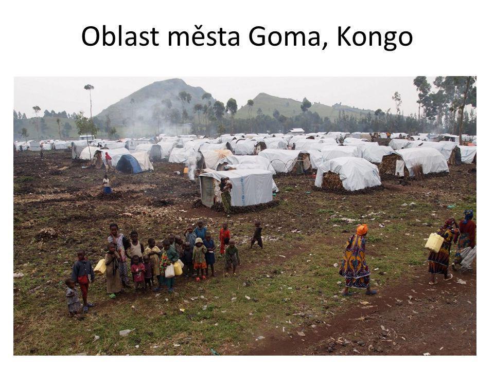Oblast města Goma, Kongo