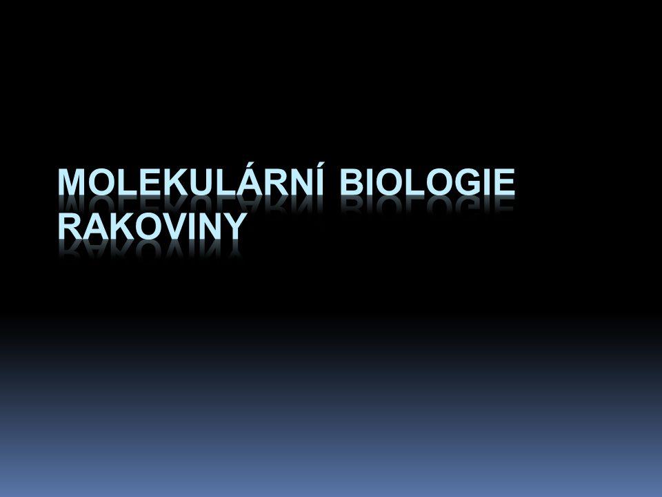 Molekulární biologie rakoviny