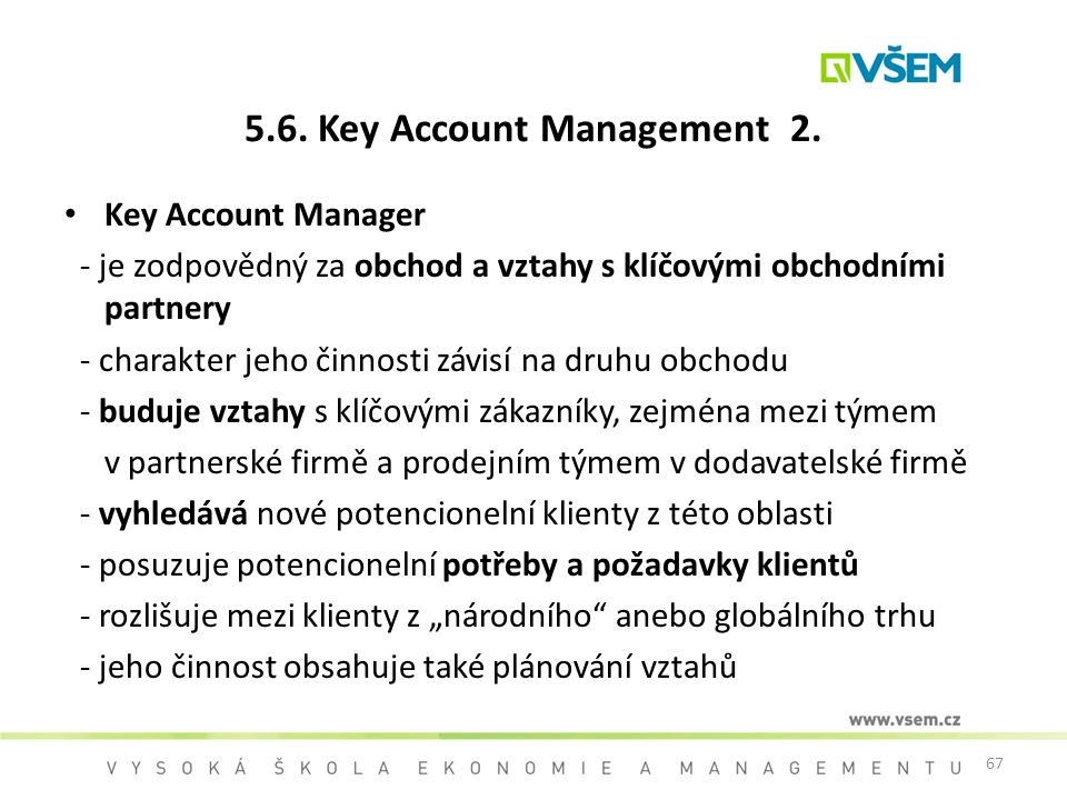 5.6. Key Account Management 2.