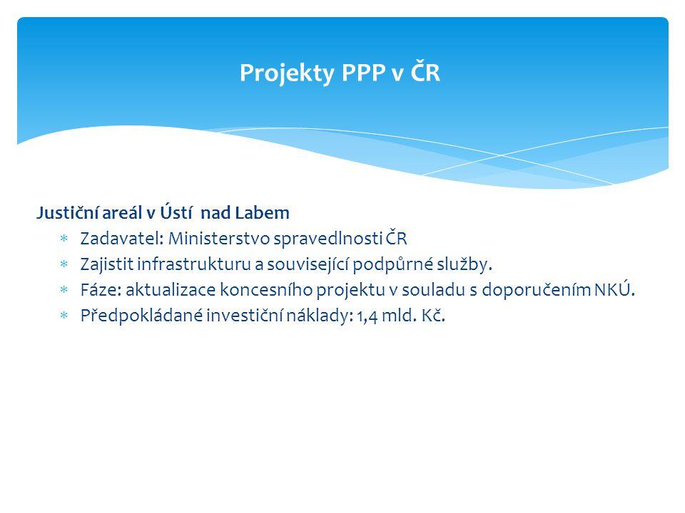 Projekty PPP v ČR Justiční areál v Ústí nad Labem