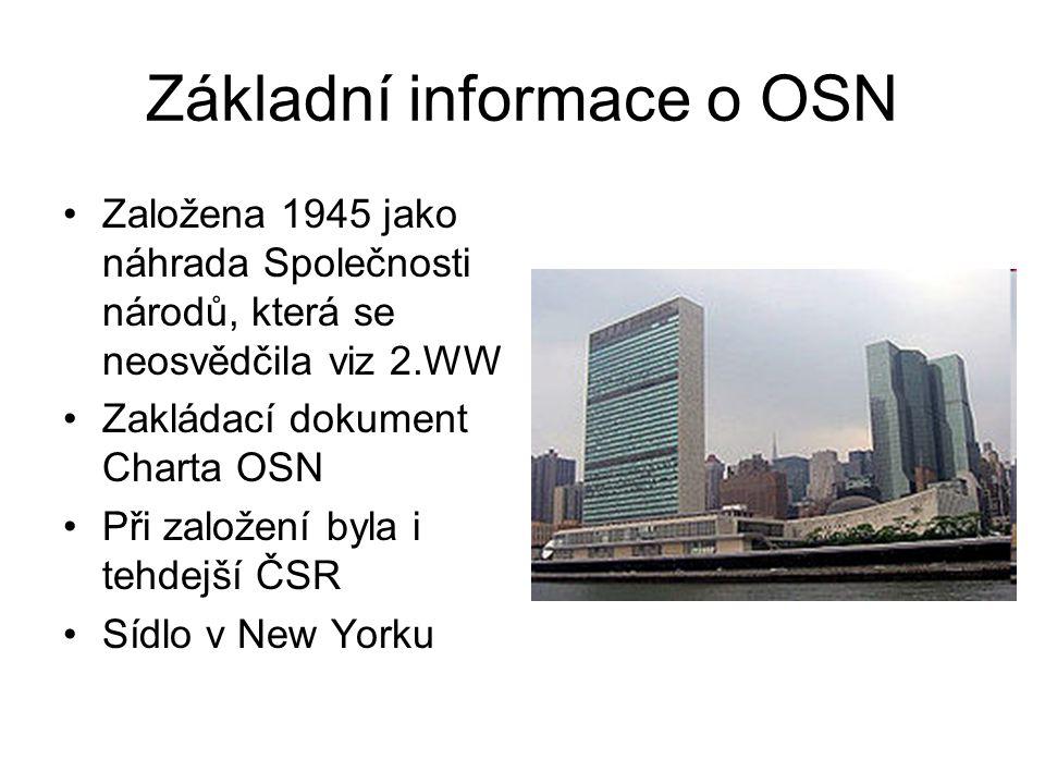 Základní informace o OSN