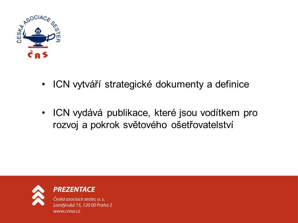 ICN vytváří strategické dokumenty a definice