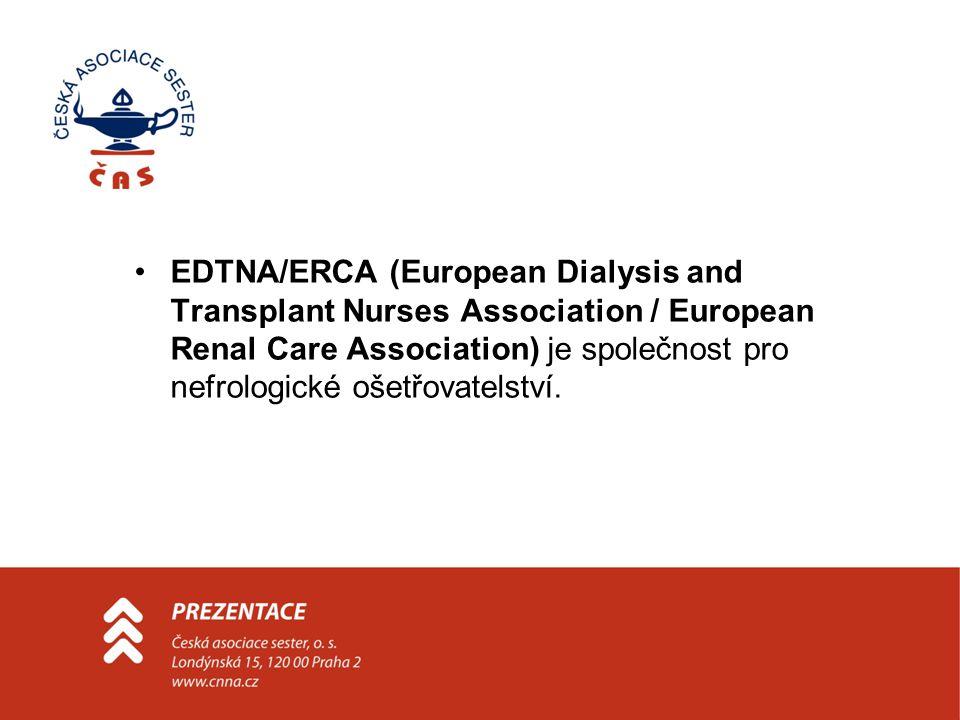 EDTNA/ERCA (European Dialysis and Transplant Nurses Association / European Renal Care Association) je společnost pro nefrologické ošetřovatelství.