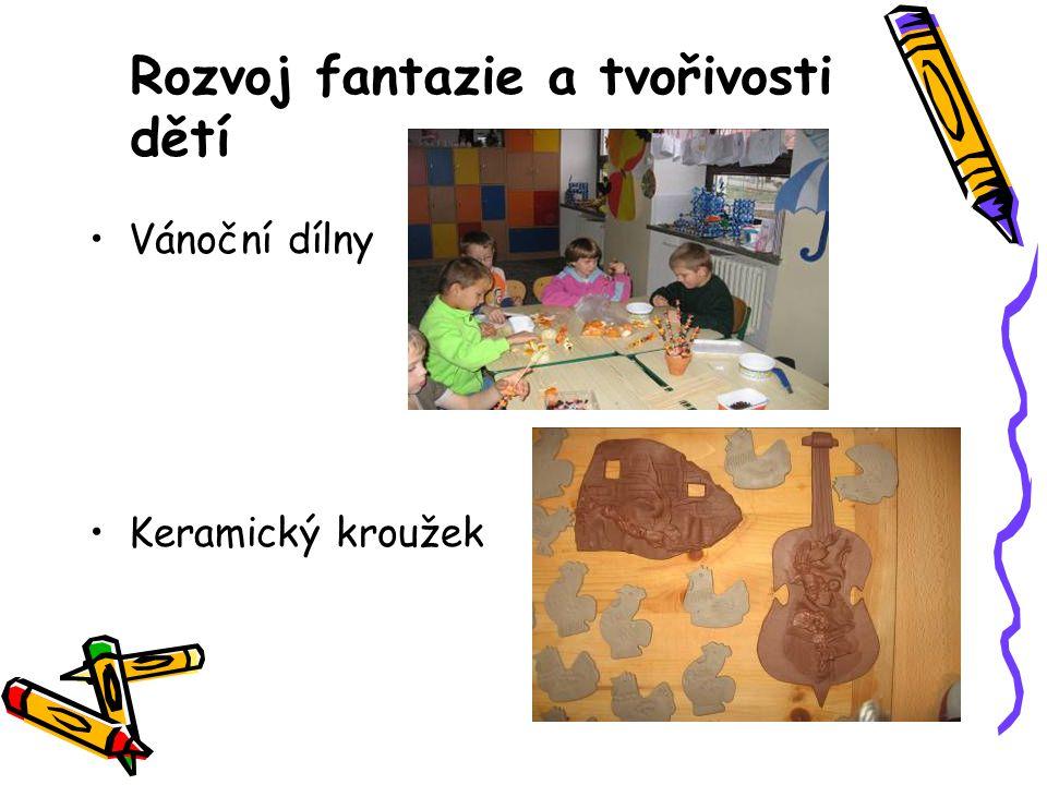 Rozvoj fantazie a tvořivosti dětí