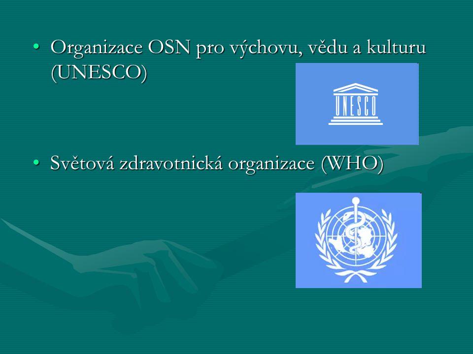 Organizace OSN pro výchovu, vědu a kulturu (UNESCO)