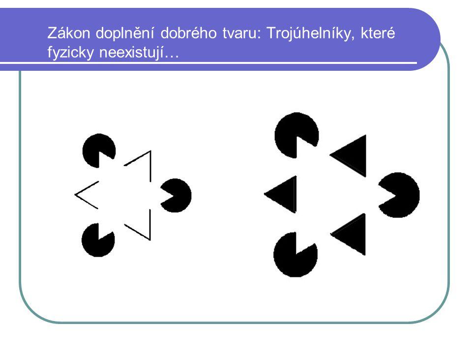 Zákon doplnění dobrého tvaru: Trojúhelníky, které fyzicky neexistují…