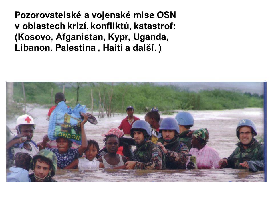 Pozorovatelské a vojenské mise OSN