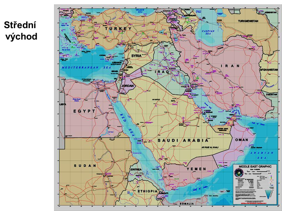 Střední východ