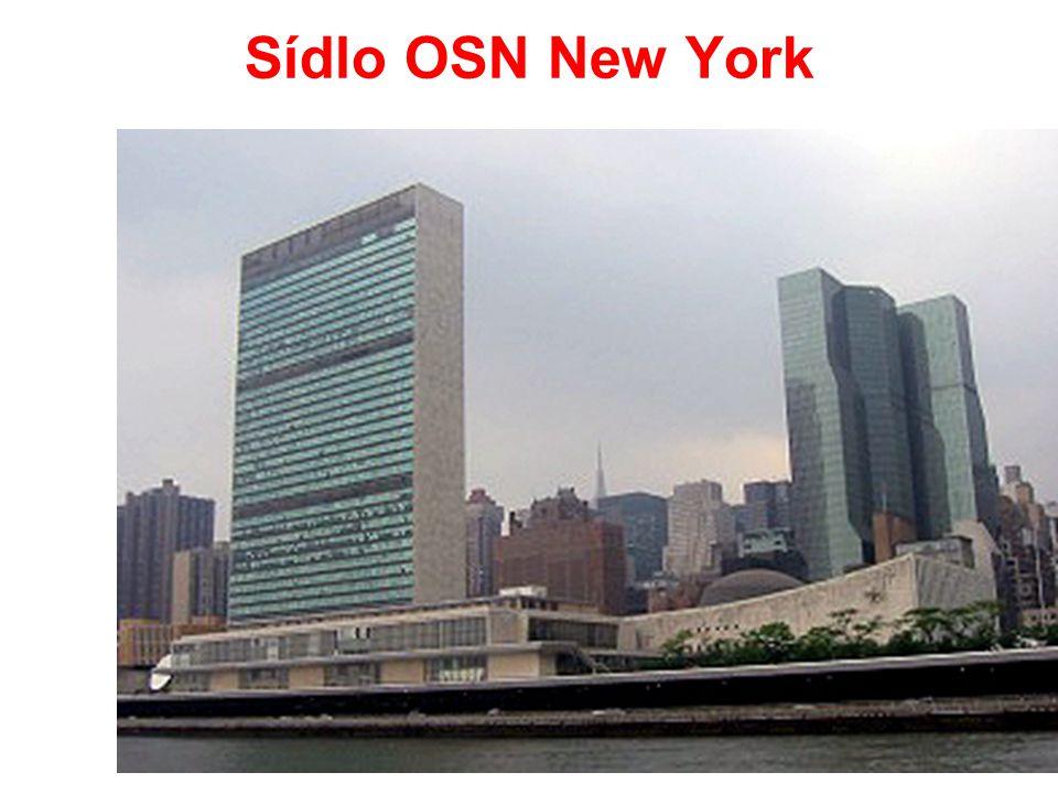 Sídlo OSN New York