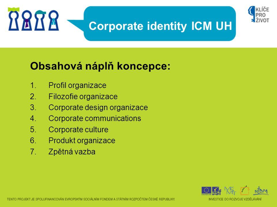Corporate identity ICM UH