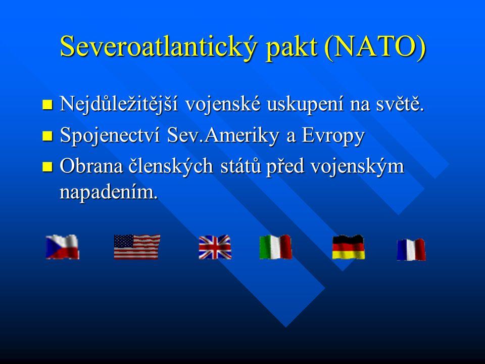 Severoatlantický pakt (NATO)