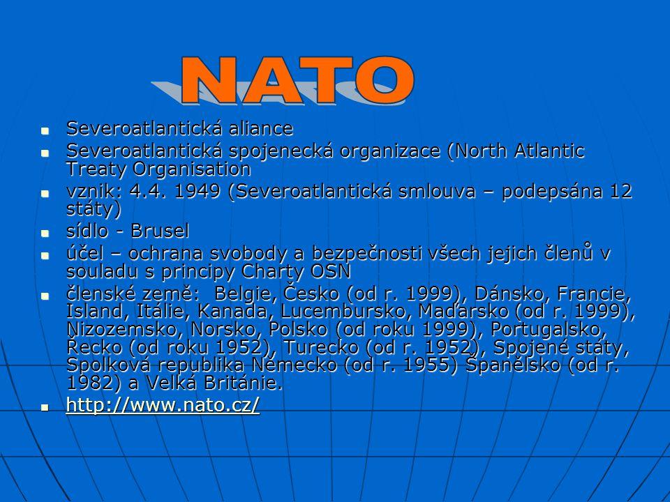 NATO Severoatlantická aliance
