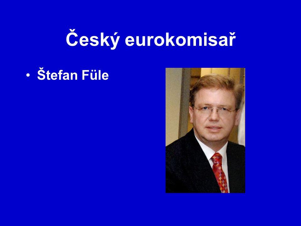 Český eurokomisař Štefan Füle