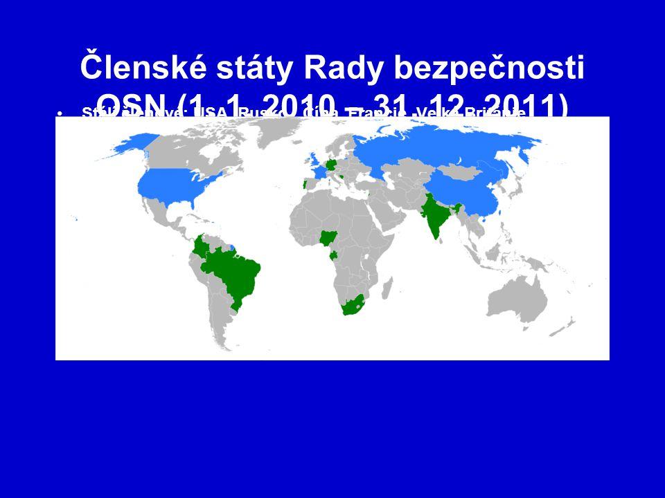 Členské státy Rady bezpečnosti OSN (1. 1. 2010 – 31. 12. 2011)