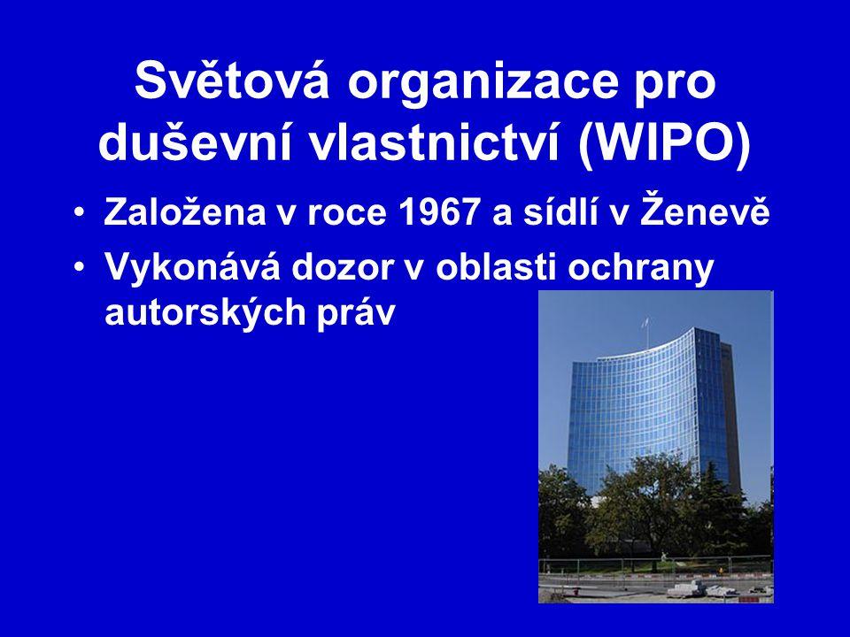 Světová organizace pro duševní vlastnictví (WIPO)