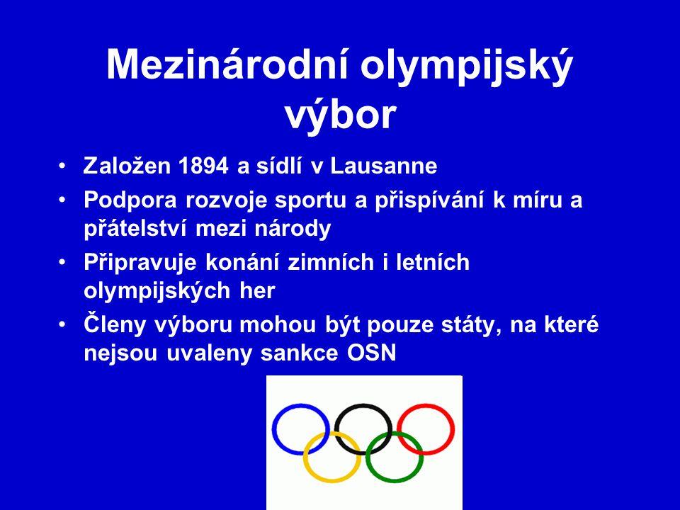 Mezinárodní olympijský výbor