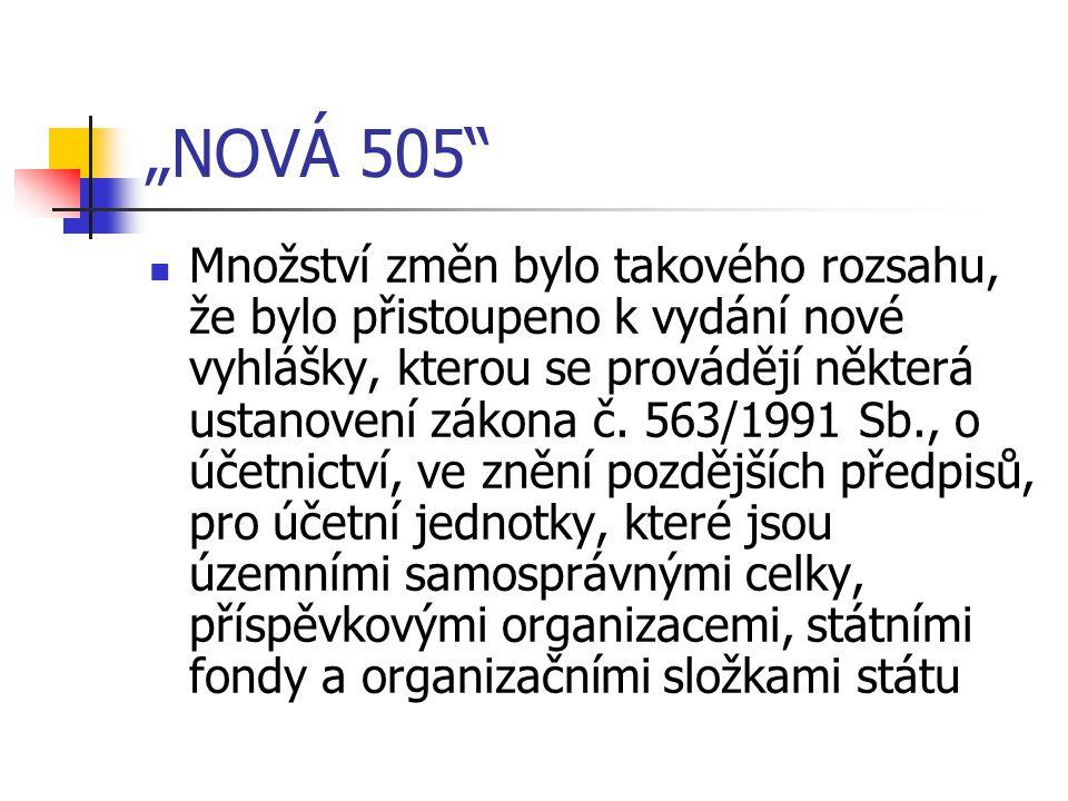 """""""NOVÁ 505"""