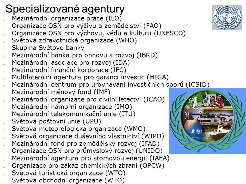 Specializované agentury