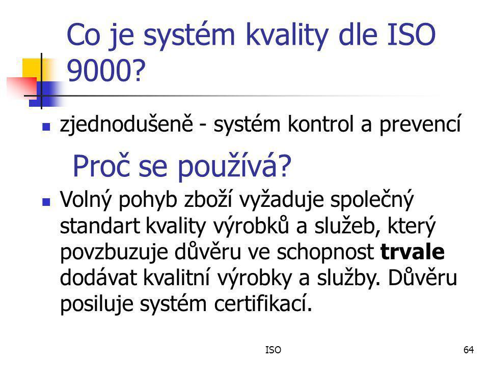Co je systém kvality dle ISO 9000