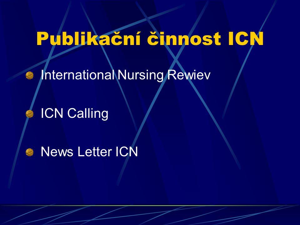 Publikační činnost ICN