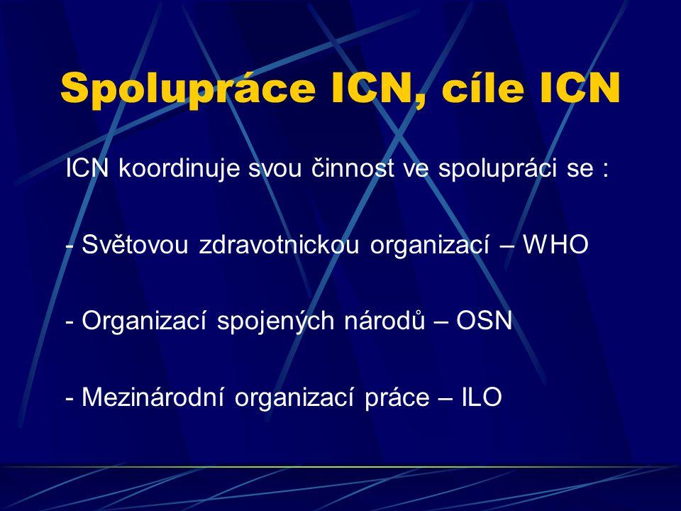 Spolupráce ICN, cíle ICN