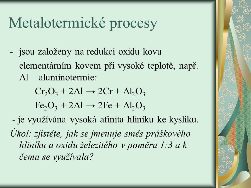 Metalotermické procesy