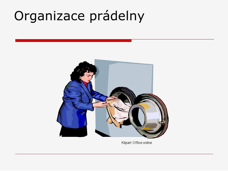 Organizace prádelny Klipart Office online