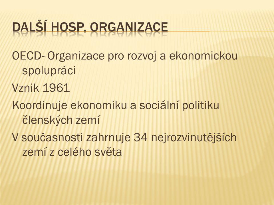 Další hosp. organizace