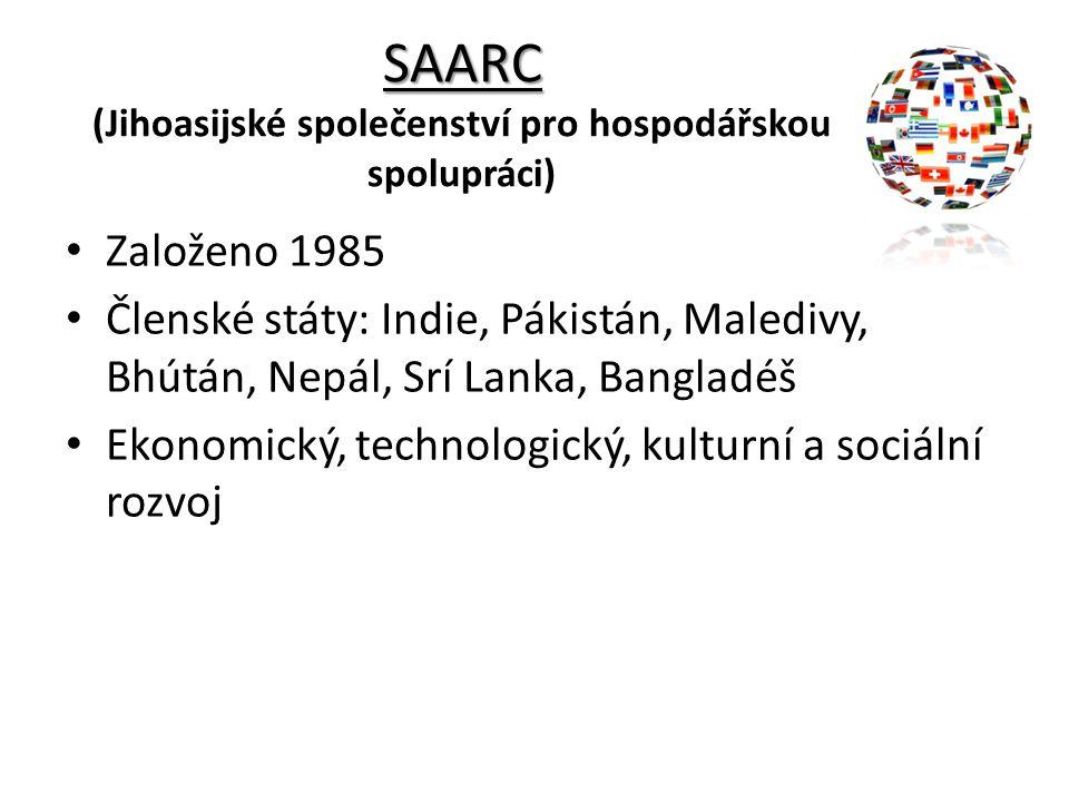 SAARC (Jihoasijské společenství pro hospodářskou spolupráci)
