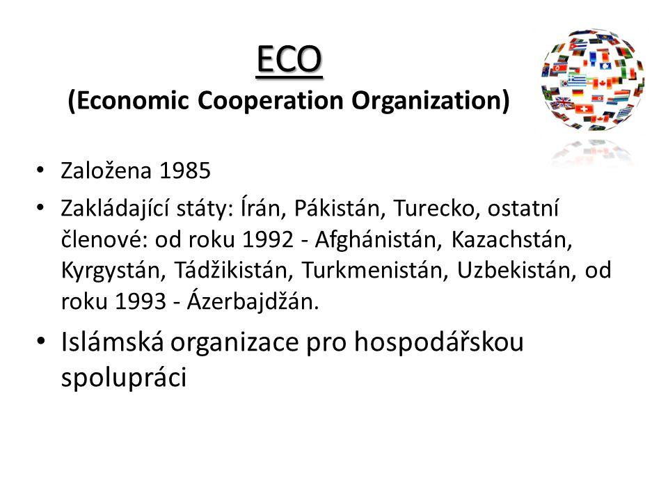 ECO (Economic Cooperation Organization)