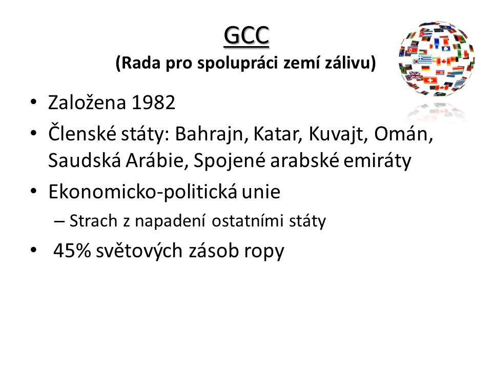 GCC (Rada pro spolupráci zemí zálivu)