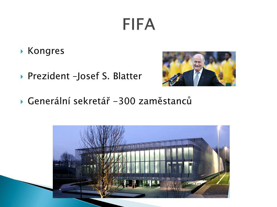 FIFA Kongres Prezident –Josef S. Blatter
